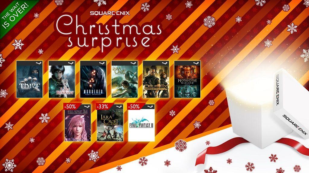 Vuelve la caja sorpresa con juegos de Square-Enix 28