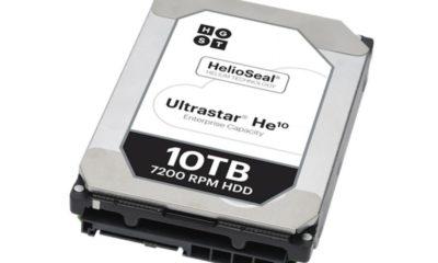 Western Digital presenta un disco duro de 10 TB con helio