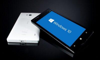 Windows 10 Mobile tiene al menos el 8,8 por ciento de los smartphones Microsoft