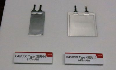 Hitachi Maxell muestra baterías con el doble de capacidad 37