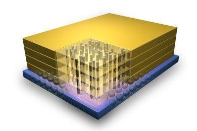 Chips mil veces más potentes gracias al apilado 3D