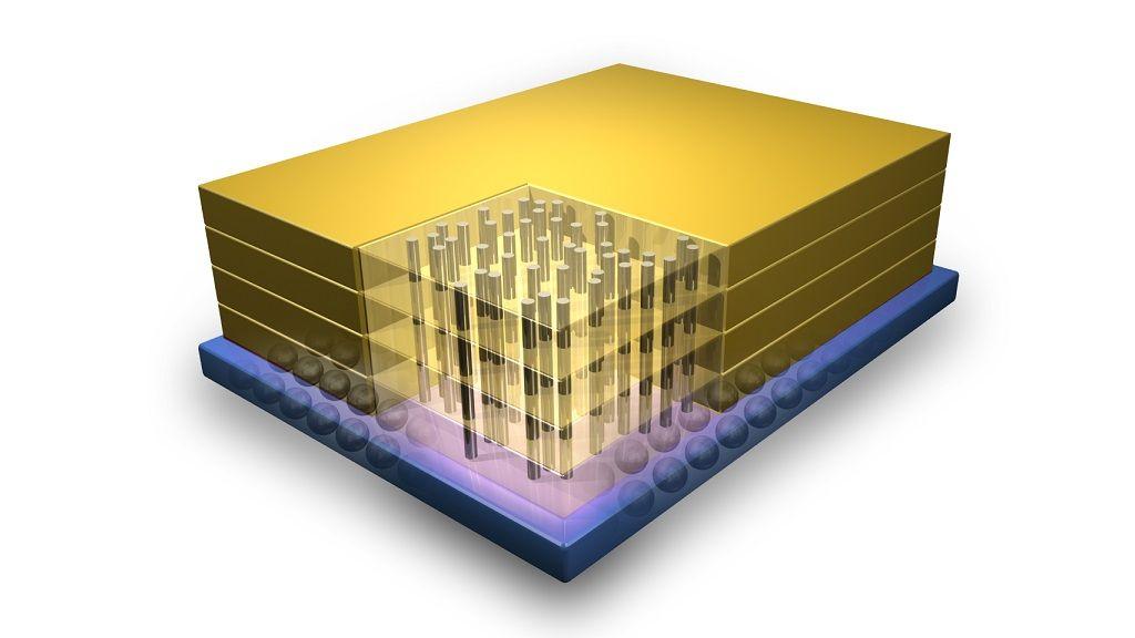 Chips mil veces más potentes gracias al apilado 3D 27