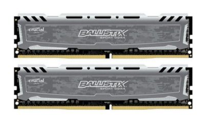 Crucial Ballistix Sport 16GB DDR4-2400, análisis 112