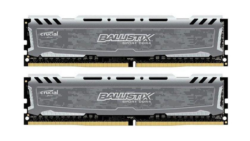 Crucial Ballistix Sport 16GB DDR4-2400, análisis 30