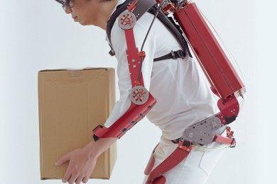 Nuevo exoesqueleto capaz de levantar hasta 30 kilos