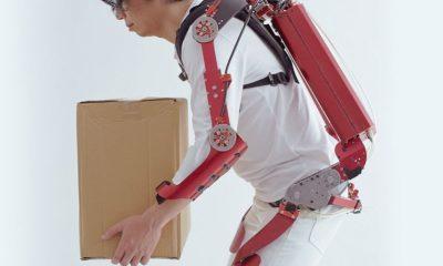 Nuevo exoesqueleto capaz de levantar hasta 30 kilos 56