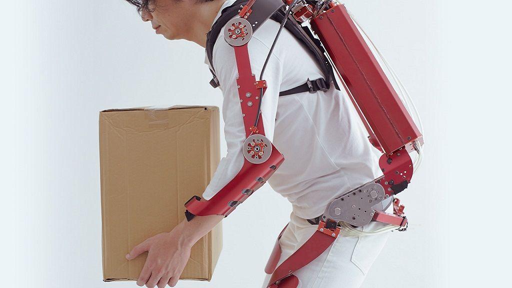 Nuevo exoesqueleto capaz de levantar hasta 30 kilos 32