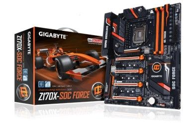 GIGABYTE Z170X SOC FORCE, alma overclocker