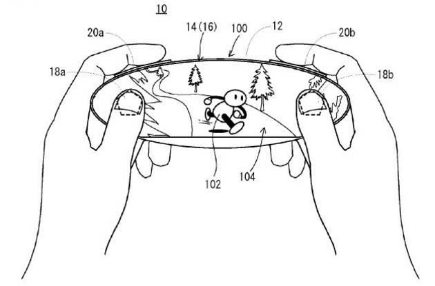 Patente de Nintendo sobre un mando, que posiblemente podría ser el de NX