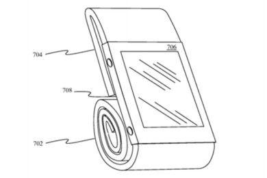 Apple patenta una correa de reloj que se puede doblar