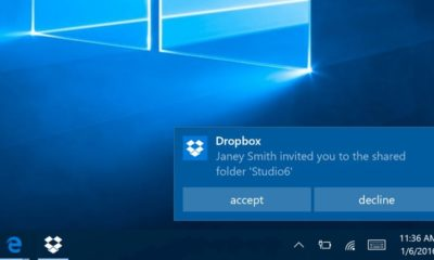 Dropbox se suma a las aplicaciones universales de Windows 10