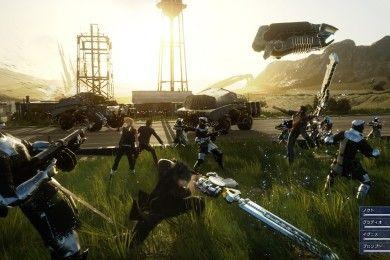 Final Fantasy XV muestra su sistema de combates