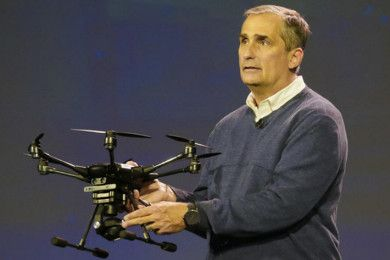 Intel más allá del PC: drones, robots y wearables