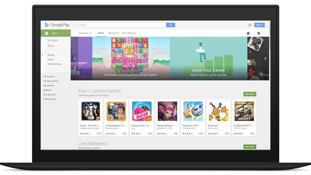 Lenovo dice que Google Play podría volver a China este año