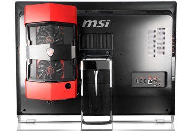MSI presenta su primer AIO con amplificador gráfico
