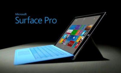 Microsoft reemplazará cargadores de Surface Pro 1, 2 y 3