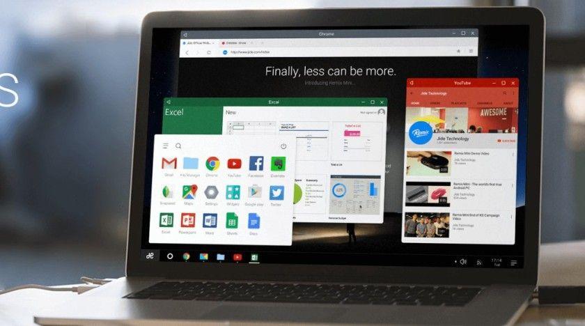 Remix OS 2.0, nueva versión del Android adaptado al PC