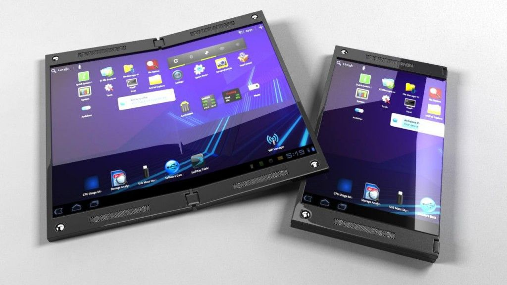 Samsung apostaría por pantalla flexible y proyector 28
