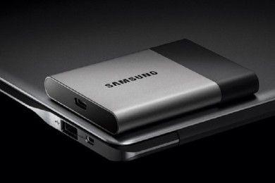 Nuevo SSD externo Samsung de 2 TB USB Type-C
