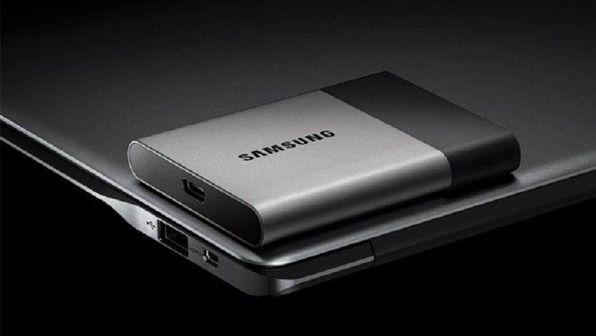 Nuevo SSD externo Samsung de 2 TB USB Type-C 29