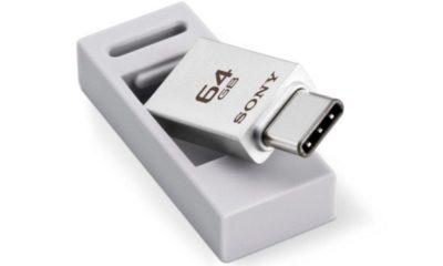 Sony presenta pendrive USB 3.1 Type C 86