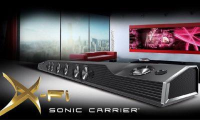 X-Fi Sonic Carrier, una barra de sonido de 5.000 dólares 146
