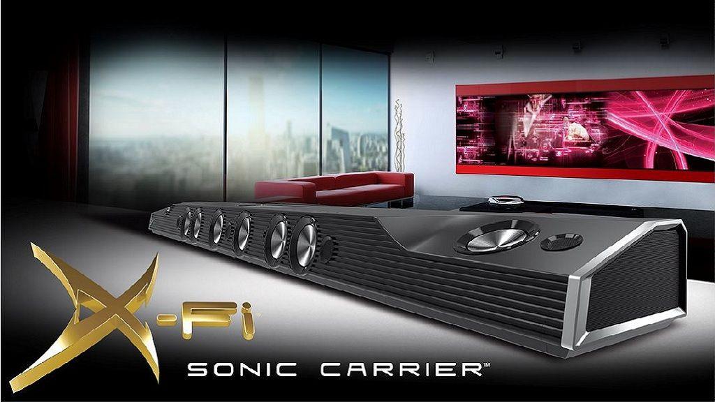 X-Fi Sonic Carrier, una barra de sonido de 5.000 dólares 29