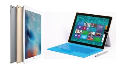 Microsoft habla de la superioridad de Surface frente al iPad Pro 29