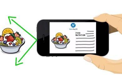 Cuenta las calorías de la comida con este accesorio para smartphone