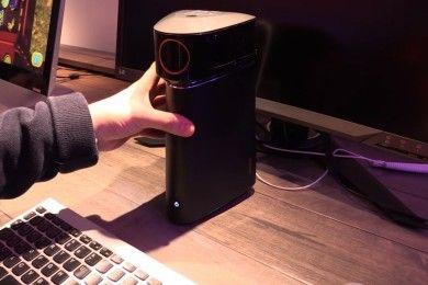 Lenovo IdeaCentre 610S, miniPC proyector de gran potencia