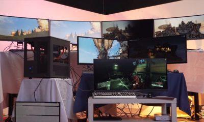 Construyen PC de 30.000 $ para jugar siete personas a la vez 30