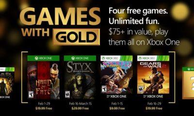Estos son los juegos gratis de Games with Gold para febrero 57