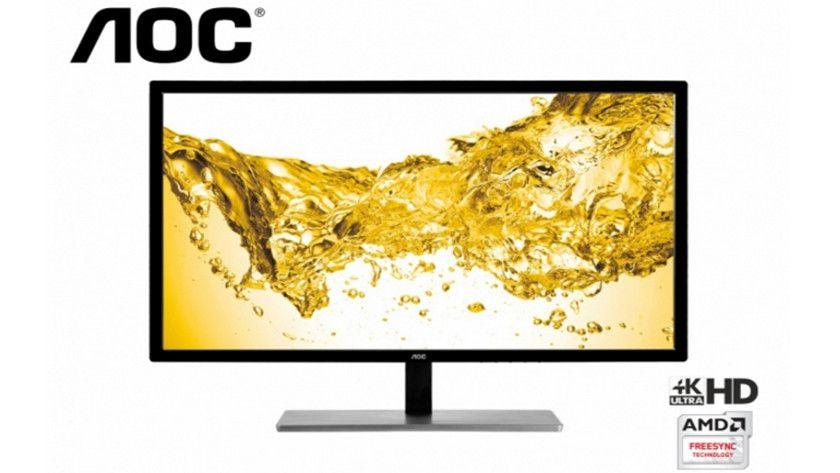 AOC presenta monitor 4K para juegos de gama económica
