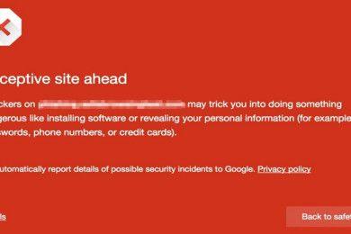 Google advertirá de botones de descarga maliciosos