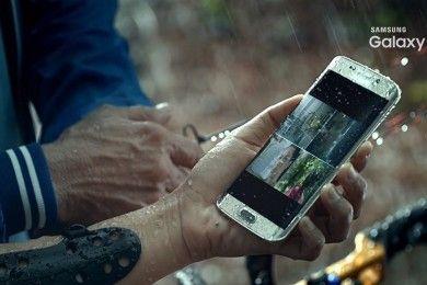 El Galaxy S7 Edge nos saluda en su primer vídeo