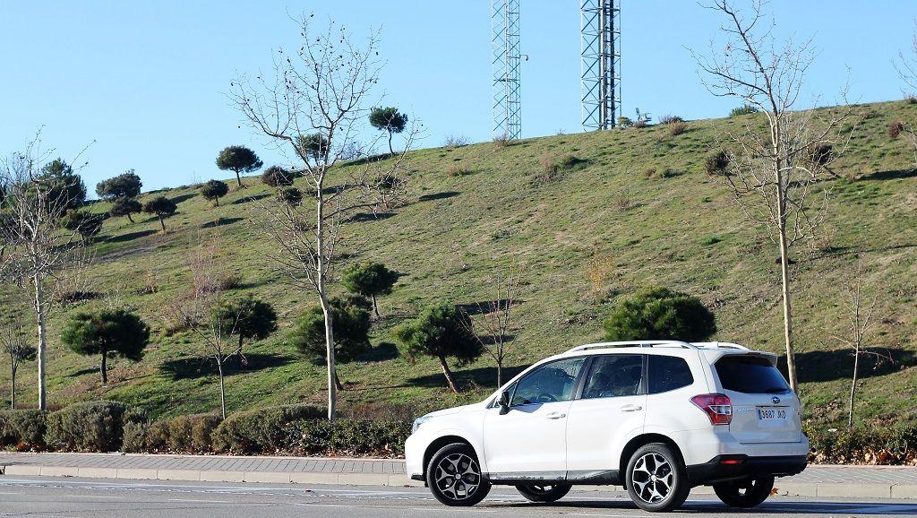 Subaru Forester: valor sólido 29