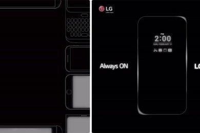 """El LG G5 tendría pantalla """"siempre encendida"""""""