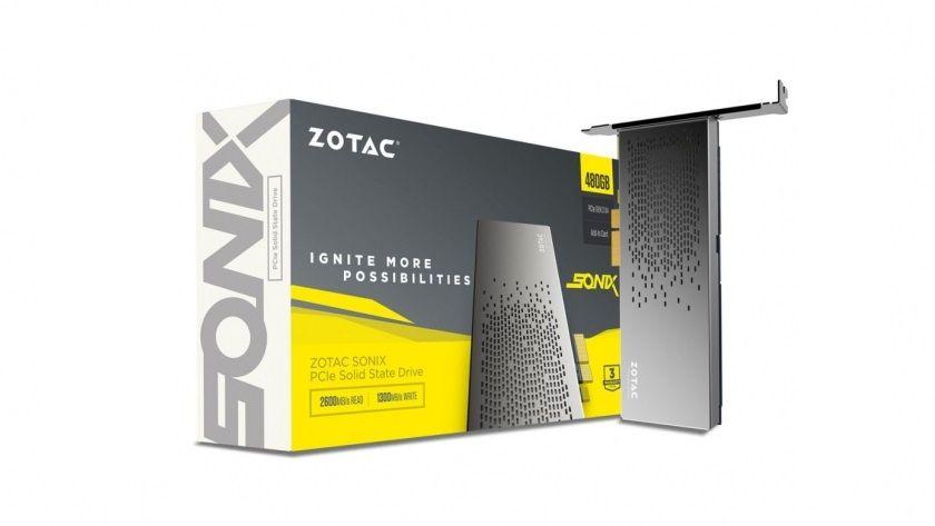 Zotac anuncia su SSD PCI-E Sonix de 480 GB, alto rendimiento 29
