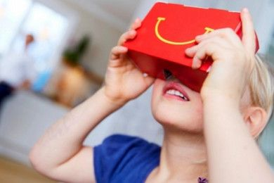 McDonald's regala gafas VR Happy Goggles con los Happy Meals