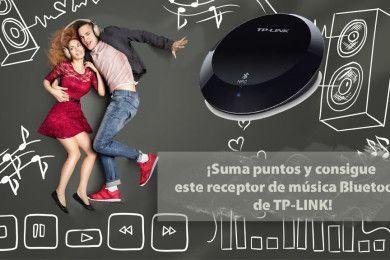 ¡Consigue con TP-LINK un receptor de música Bluetooth!