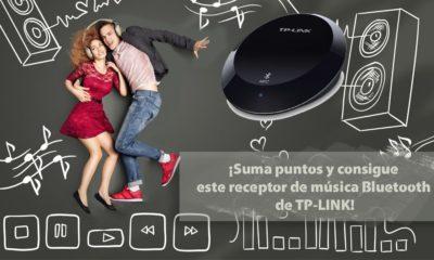 ¡Consigue con TP-LINK un receptor de música Bluetooth! 68