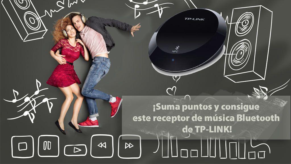 ¡Consigue con TP-LINK un receptor de música Bluetooth! 30