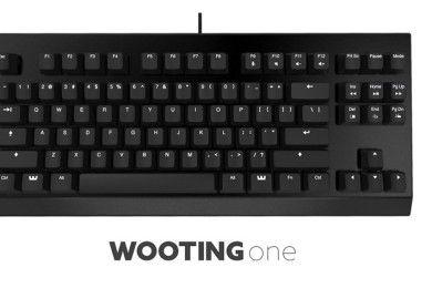 Wooting One, el primer teclado análogico
