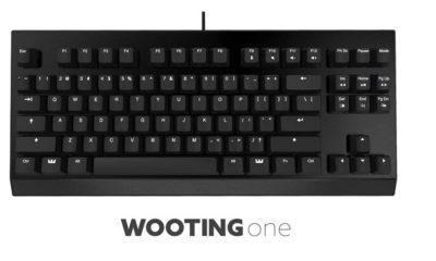 Wooting One, el primer teclado análogico 122