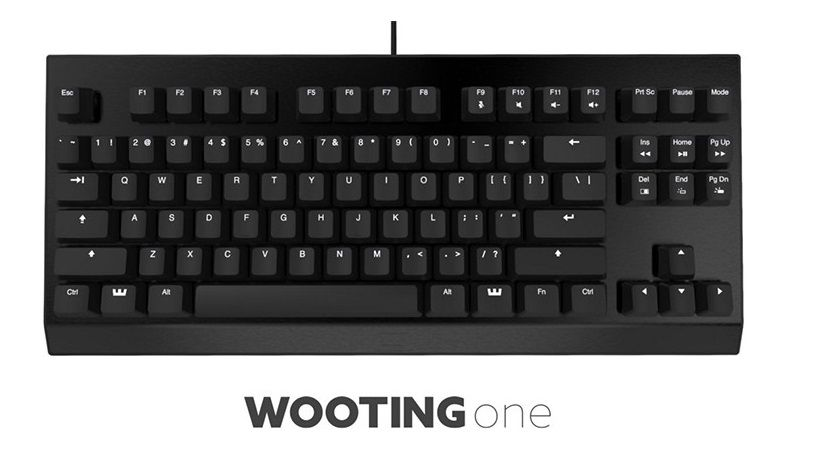 Wooting One, el primer teclado análogico 30