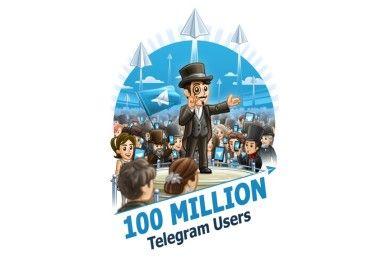 Telegram ya tiene 100 millones de usuarios activos al mes