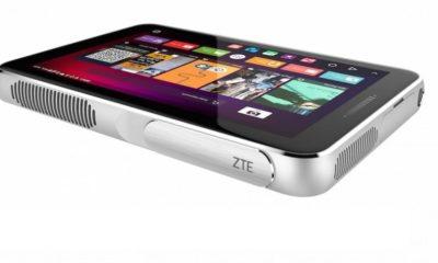 ZTE Spro Plus, tablet con cuerpo de proyector 105
