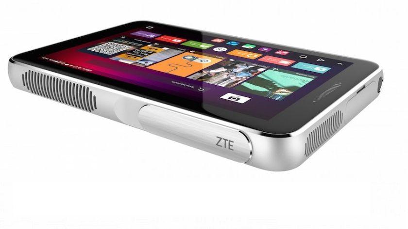 ZTE Spro Plus, tablet con cuerpo de proyector 30