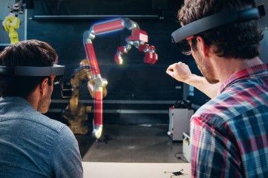 Holoportation, una maravilla respaldada por HoloLens
