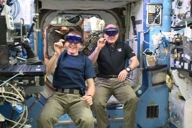 Vídeo: HoloLens en la Estación Espacial Internacional